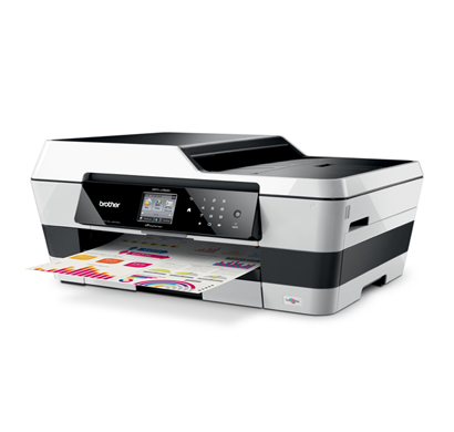 brother mfc-j 3520 multi-function inkjet printer