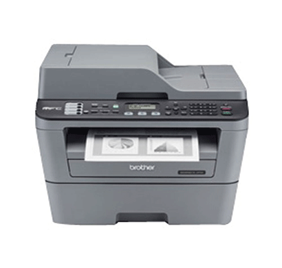 brother mfc-l2701dw monochrome multi function laser printer automatic 2 side