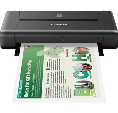 canon ip110 colour wifi single-function inkjet printer