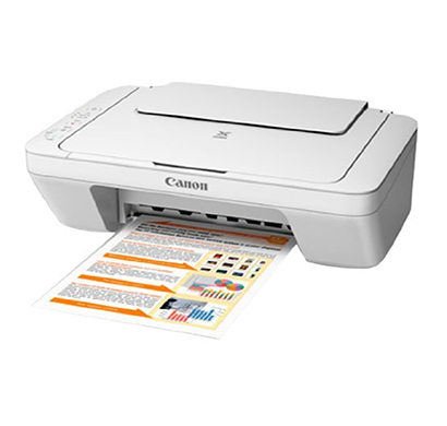 canon mg2570 colour multifunction inkjet printer,(white)