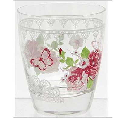 cerve floral water glasses (pack of 6)