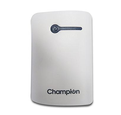 champion 3c power bank 7800 mah white