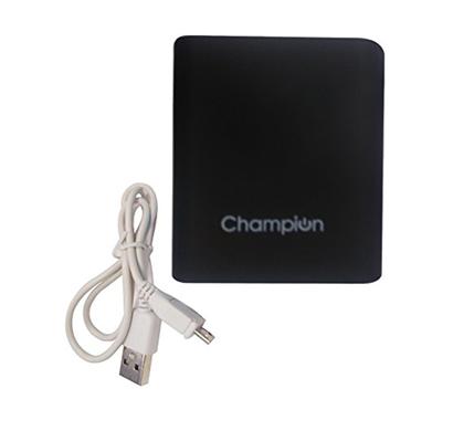 champion 4c power bank 10400 mah black