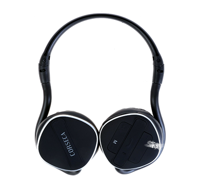 corseca 5810bt bluetooth stereo headphone with mic,mp3 players