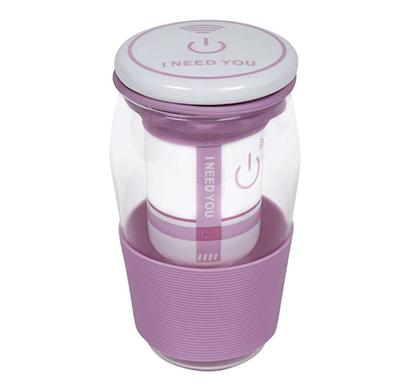 cosmosgalaxy green tea mug with strainer, ceramic lid and silicon sleeve, purple