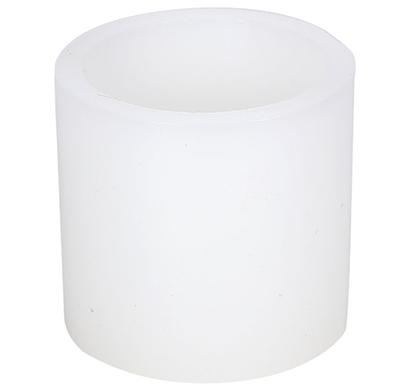 cosmosgalaxy i3775 decorative flameless led candle, white