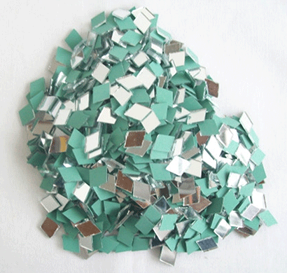 cross shape mirror beads for art and craft and also used in embroidery (cross shape 9 mm)