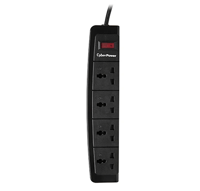 cyberpower b0415sa0 un 4 outlet surge protector black