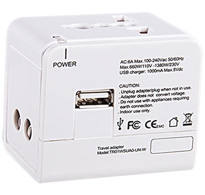 cyberpower 1ne-0000052-00g, travel adaptor, 1 year warranty