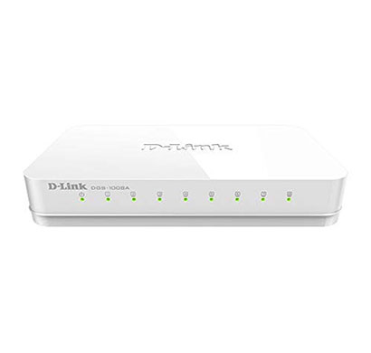 d-link dgs-1008a 8-port gigabit easy desktop switch (white)