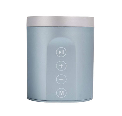 debock (daniu-7606) 3w fully touch control bluetooth speaker with fm, aux, pendrive, mmc (mix)