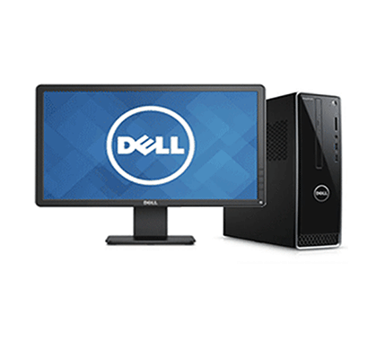 dell inspiron 3470 desktop pc ( intel core-i3 8th gen/ 4gb ram/ 1tb hdd/ windows 10, ms office/ intel uhd graphics 610/ no dvd/ black