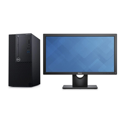 dell optiplex (3070) mt desktop pc (intel core i3-9100/ 9th gen/ 4gb ram/ 1tb hdd / dos /19.5 inch led) 3 year warranty