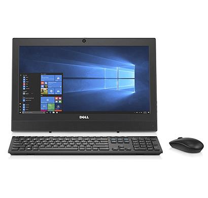 dell desktop all in one 3050 optiplex core i 3 7 th gen / 4 gb ram/ 500 gb hdd / dvd rw / wifi / bw/ dos / 19.5 inch screen / wired keyborad mouse/ 3 year warranty