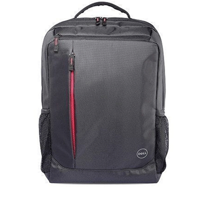 dell m97h2 essential laptop backpack 15.6 inch (red accent) black