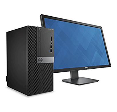 dell optiplex 3040 mt desktop i3-6th gen, 4gb, 500gb, dos, wr, with 19.5 monitor, 3 years warranty