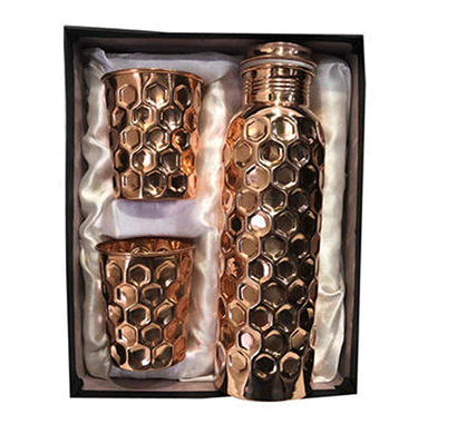 desiswags copper gifting sets ethically handmade copper bottle and gifting sets