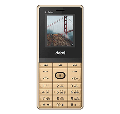 detel d1 talkey 1.8 inch display