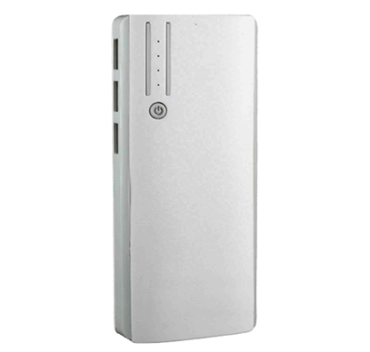 detel d12500 mah power bank (white)