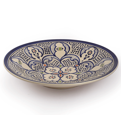 dileep dppl-01 ceramic bowl multi colour painted