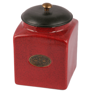 dileep dppl-02 ceramic canister red