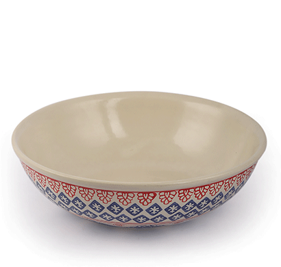 dileep dppl-07 ceramic bowl multi colour painted