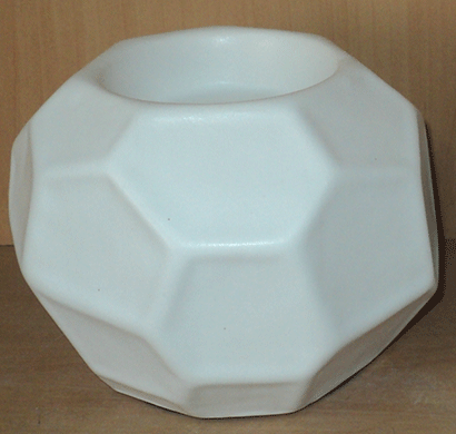 dileep 4240dcd ceramic t-light holder white