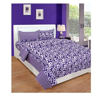 dream aura (b07yxsgvm7) victorian summer dream, 100% polyester double bedsheet with 2 pillow covers, da004 (multi)