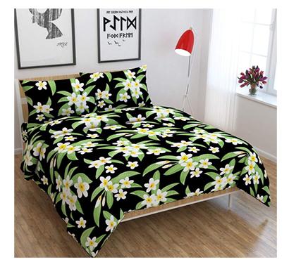 dream aura (b07yxs9g6g) victorian summer dream, 100% polyester double bedsheet with 2 pillow covers, da078 (multi)