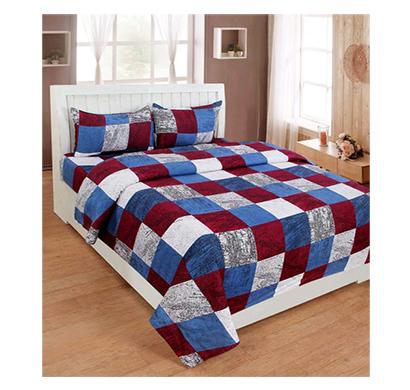 dream aura (b07z3g9x9n) victorian summer dream, 100% polyester double bedsheet with 2 pillow covers, da001 (multi)