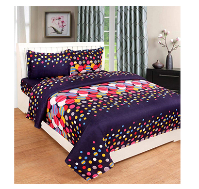 dream aura (b07z3g835d) victorian summer dream, 100% polyester double bedsheet with 2 pillow covers, da024 (multi)