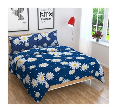 dream aura (b07z3crtyg) victorian summer dream, 100% polyester double bedsheet with 2 pillow covers, da020 (multi)