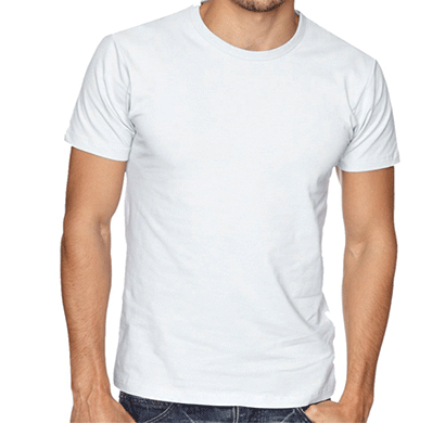 ditto round neck plain t-shirt 707or5