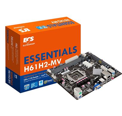 ecs h61h2-mv intel motherboard