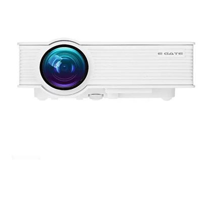 egate eg i9 (white) portable led projector