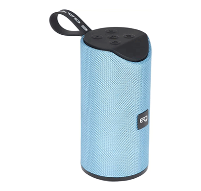 egate 426 water resistant portable deep bass bluetooth speaker/12w (blue)