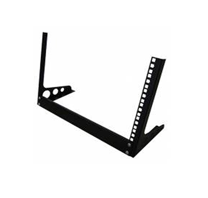 ems open rack 15u wall mount rack