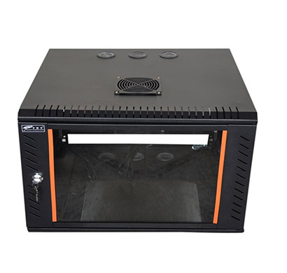 ems 9u x 550w x 350d wall mount rack