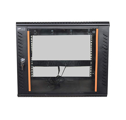 ems 9u x 550w x 450d wall mount rack