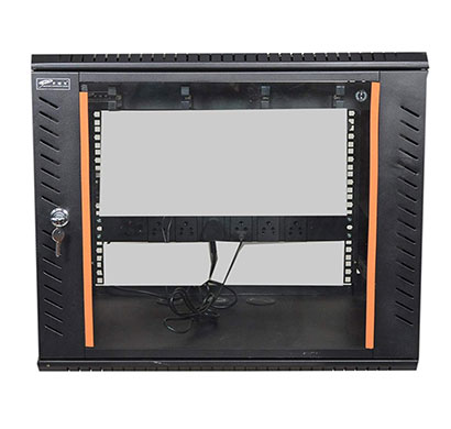 ems 9u x 550w x 500d wall mount rack