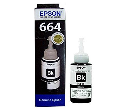 epson - c13t664198 black ink bottle - 70 ml