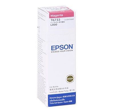 epson - c13t673398  magentak ink bottle -70 ml