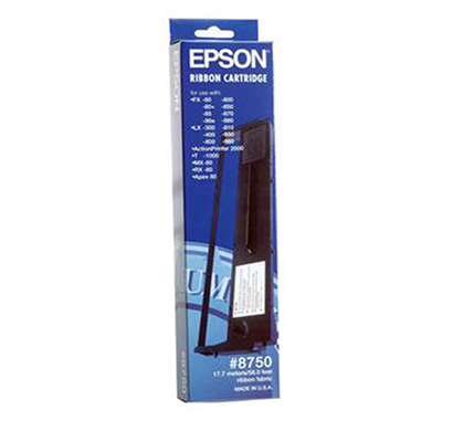 epson - c13s015516 ribbon cartridge mono -8750