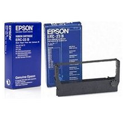 epson- c43s015360, erc-23,original black posc ribbon
