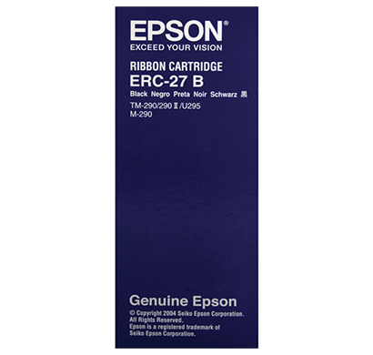epson- c43s015366, erc-27,original black posc ribbon