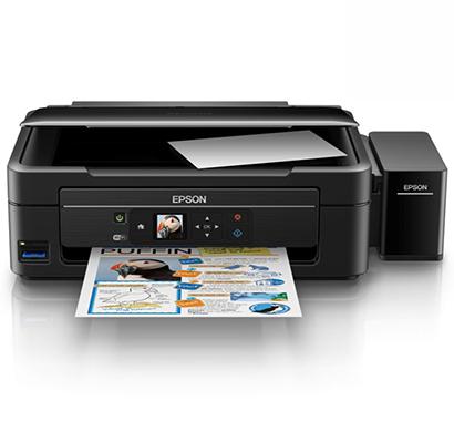 epson l485-(c11ce24503), all in one inkjet printer, 1 year warranty