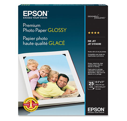 epson- c13s042021, premium glossy, 4x6 photo paper, 1 year warranty