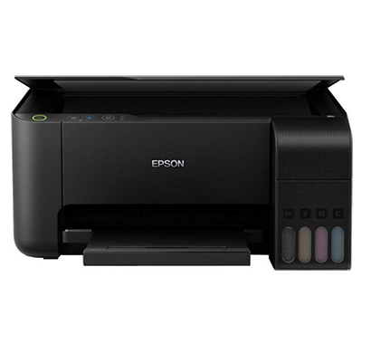epson ecotank (l3150) wi-fi all-in-one ink tank printer (black)