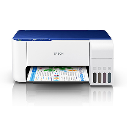 epson ecotank (l3115) multifunction inktank printer (blue & white)