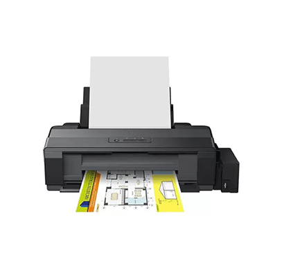 epson l1300 single function inkjet printer (black, refillable ink tank)